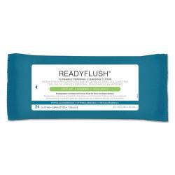 Medline - MSC263810CT - ReadyFlush Biodegradable Flushable Wipes, 8 x 12, 24/Pack, 24 Pack/Carton