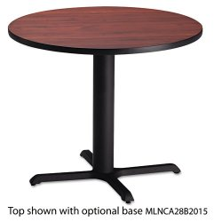 Mayline - CA30RTRMH - Mayline Bistro Series Round Tabletop - Round Top x 30 Table Top Diameter - Mahogany