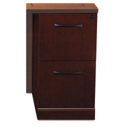 Mayline - SCFFSCR - Sorrento Series File/File Pedestal For Credenza Top, Bourbon Cherry