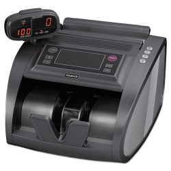 MMF Industries - 2004820C8 - 4820 Bill Counter with Counterfeit Detection, 1200 Bills/Min, Charcoal Gray