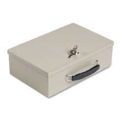 MMF Industries - 221614003 - Security Box, Sand, 12-3/4x8-1/4x4