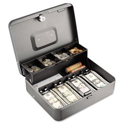 MMF Industries - 2216194G2 - STEELMASTER(R) 2216194G2 Tiered Tray Cash Box