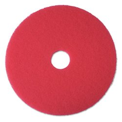 3M - 08394 - 3M Red Buffer Floor Pads 5100 (Carton of 5)