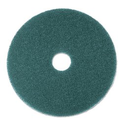 "3M - 08413 - Cleaner Floor Pad 5300, 20"" Diameter, Blue, 5/Carton"