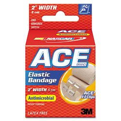 "3M - 207310 - Elastic Bandage with E-Z Clips, 2"" x 50"""
