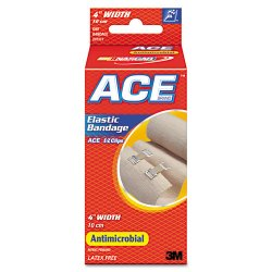 "3M - 207313 - Elastic Bandage with E-Z Clips, 4"" x 64"""