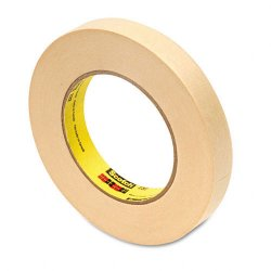 3M - 23234 - Scotch 232 High-performance Masking Tape - 0.75 Width x 60 yd Length - 3 Core - Rubber Backing - 1 Roll - Cream