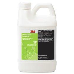 3M - 3P - 3M 3P Neutral Cleaner Concentrate - Liquid - 0.50 gal (64.25 fl oz) - Fresh Scent - 1 Each - Clear