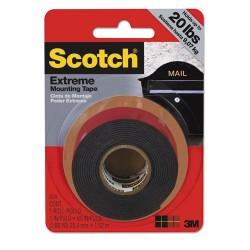 3M - 414P - Extreme Mounting Tape, 1 x 60, Black