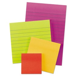 3M - 4622-SSAN - Pads in Marrakesh Colors, Assorted Sizes, Lined & Plain, 45-Sheet, 4/Pack