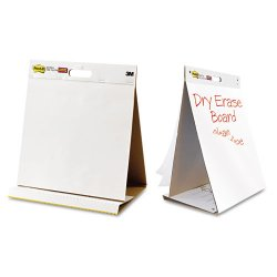 3M - 563DE - Post-it Easel Pads Super Sticky Self-Stick Tabletop Easel Pad (Each)