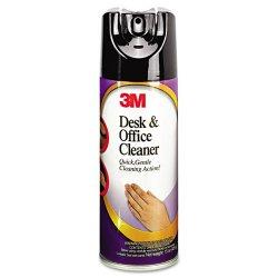 3M - 573 - Desk & Office Spray Cleaner, 15oz Aerosol, 12/Carton