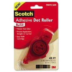 3M - 6055R - Scotch Adhesive Dot Roller Refill - 8 oz - 1 Each - Clear