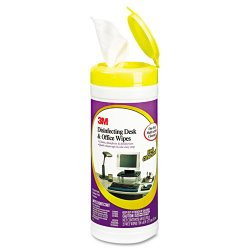 3M - CL564 - 3M Disinfecting Desk & Office Wipe - 25 / Each - White