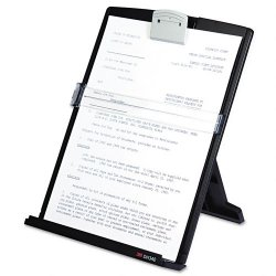 3M - DH340MB - 3M Desktop Document Holder - 1.6 Height x 9.4 Width x 12 Depth - Silver