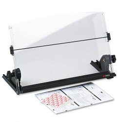 3M - DH630 - 3M In-Line Adjustable Compact Document Holder - 14 Width - Clear