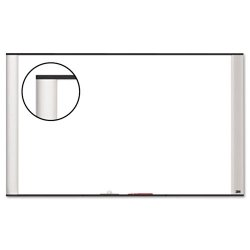 3M - M7248A - 3M Wide Screen Style - Whiteboard - wall mountable - 72 in x 48 in - melamine - aluminum frame