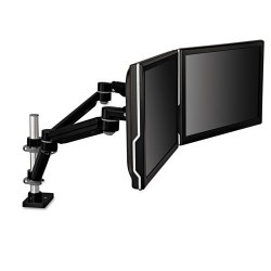3M - MA260MB - 3M Desk Mount for Flat Panel Display - 20 lb Load Capacity - Black