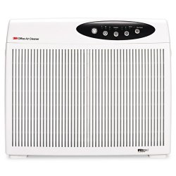 3M - OAC250 - 3M Office Air Cleaner for Conference Rooms, OAC250 - Activated Carbon, Ionizer - 320 Sq. ft. - Black, Silver