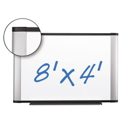 3M - P9648A - Dry Erase Board Porcelain 96x48 Full Aluminum Frame Magnetic