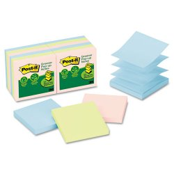 3M - R330RP12AP - Post-it Greener Notes Original Recycled Pop-up Notes (Pack of 12)