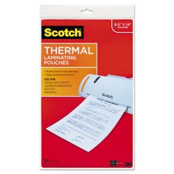 3M - TP3855-20 - Laminating Sheets 8.9 In X 14.4 In