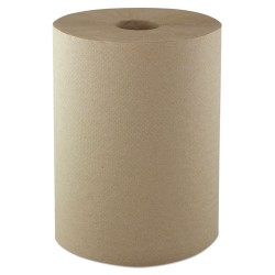 Morcon Paper - R106 - Hardwound Roll Towels, 1-Ply, 10 x 800 ft, Kraft, 6/CT