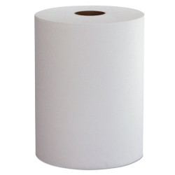 Morcon Paper - W106 - Hardwound Roll Towels, 1-Ply, 10 x 800 ft, White, 6/CT