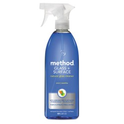 Method - 00003 - Method Mint Glass/Surface Cleaner - Spray - 0.22 gal (28 fl oz) - Mint Scent - 8 / Carton - Light Blue