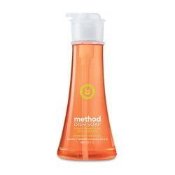 Method - 00735 - Method Clementine Dish Soap - 0.14 gal (18 fl oz) - Clementine Scent - 1 Each - Orange