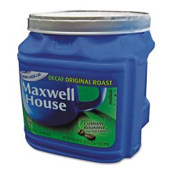 Maxwell House - 74412 - Coffee, Decaffeinated Ground Coffee, 29.3 oz Can