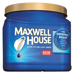 Maxwell House - 04648 CASE - Coffee, Ground, Original Roast, 30.6 oz Canister, 6 Canisters/Carton