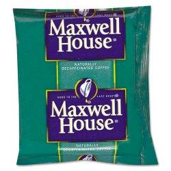 Maxwell House - 390390 - Coffee, Original Roast Decaf, 1.1oz Pack, 42/Carton