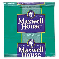 Maxwell House - 39568 - Filter Packs, Decaffeinated Coffee, .7oz, 100/Carton