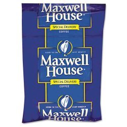 Maxwell House - 862400 - Coffee, Regular Ground, 1 1/5oz Special Delivery Filter Pack, 42/Carton