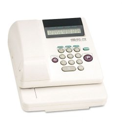 Max USA - EC-70 - Electronic Checkwriter, 14-Digit, 3-5/8 x 9-5/8 x 7-7/8