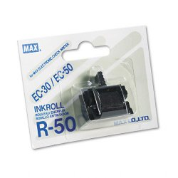 Max USA - R-50 - R50 Replacement Ink Roller, Black