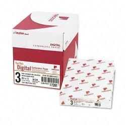 Nekosa - 17391 - Nekoosa Laser Print Carbonless Paper - Letter - 8 1/2 x 11 - 92 Brightness - 2500 / Carton - White, Canary, Pink
