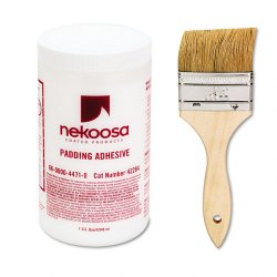 Nekosa - 42284 - Nekoosa Fan-out Padding Adhesive - 1 quart - 1 Each - White
