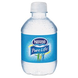 Nestle - 11475642 - Pure Life Purified Water, 8 oz Bottle, 48/Carton