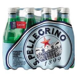Nestle - 041508734455 - Sparkling Natural Mineral Water, 16.9 oz Bottle, 12/Pack
