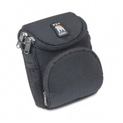 "Norazza - AC220 - Ape Case AC220 Camcorder/Digital Camera Case - Top Loading - Shoulder Strap6.62"" x 5"" x 3.5"" - Nylon - Black"