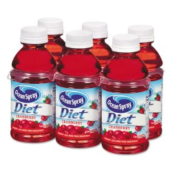 Ocean Spray - 00191 - Cranberry Juice Drink, Diet Cranberry, 10 oz Bottle, 6/Pack