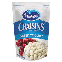 Ocean Spray - 03719 - Craisins, Yogurt Covered, 8 oz Bag