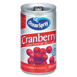 Ocean Spray - 20405 - Cranberry Juice Drink, Cranberry, 5.5 oz Can