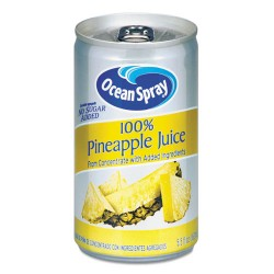 Ocean Spray - 20454 - 100% Juice, Pineapple, 5.5 oz Can