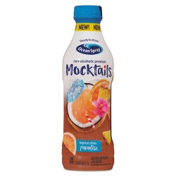 Ocean Spray - 22195 - Mocktails, Tropical Citrus Paradise, 1 L, 8/Carton