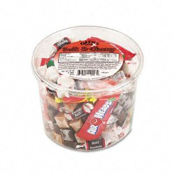 Office Snax - 00013 - Soft & Chewy Mix, Assorted Soft Candy, 2 lb Resealable Plastic Tub