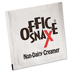 Office Snax - 00022CT - Premeasured Single-Serve Packets, Powder Non-Dairy Creamer, 800/Carton