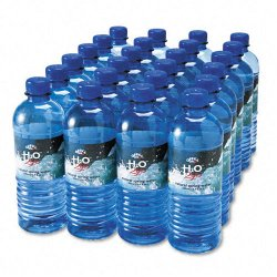 Office Snax - 00024 - Bottled Spring Water, 1/2L, 24/Carton